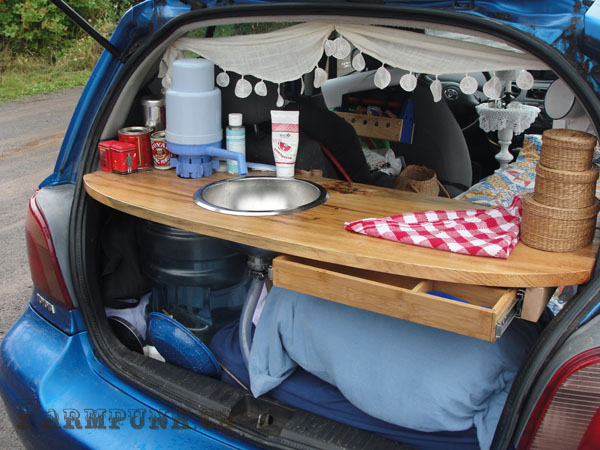 Convert Your Hatchback to a Camper – Inspiration from ...