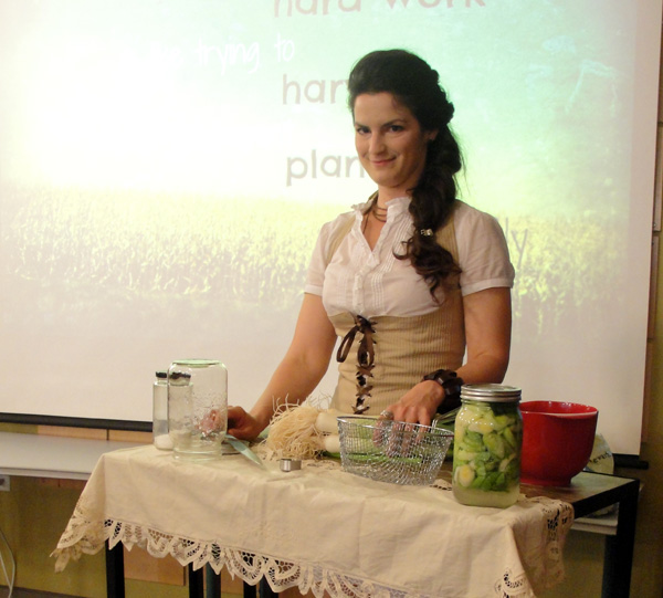 My fermenting demonstration at the Hub Halifax